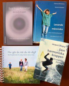 Böcker med Guidade Övningar i Basal Kroppskännedom